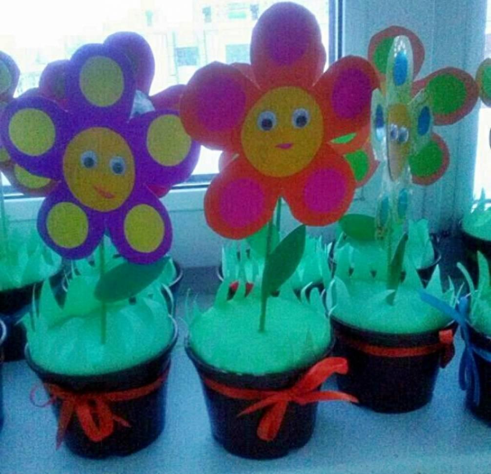Красивые поделки на 8 марта своими руками идеи дляского сада