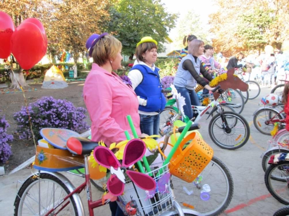 как украсить велосипед на парад велосипедов своими руками