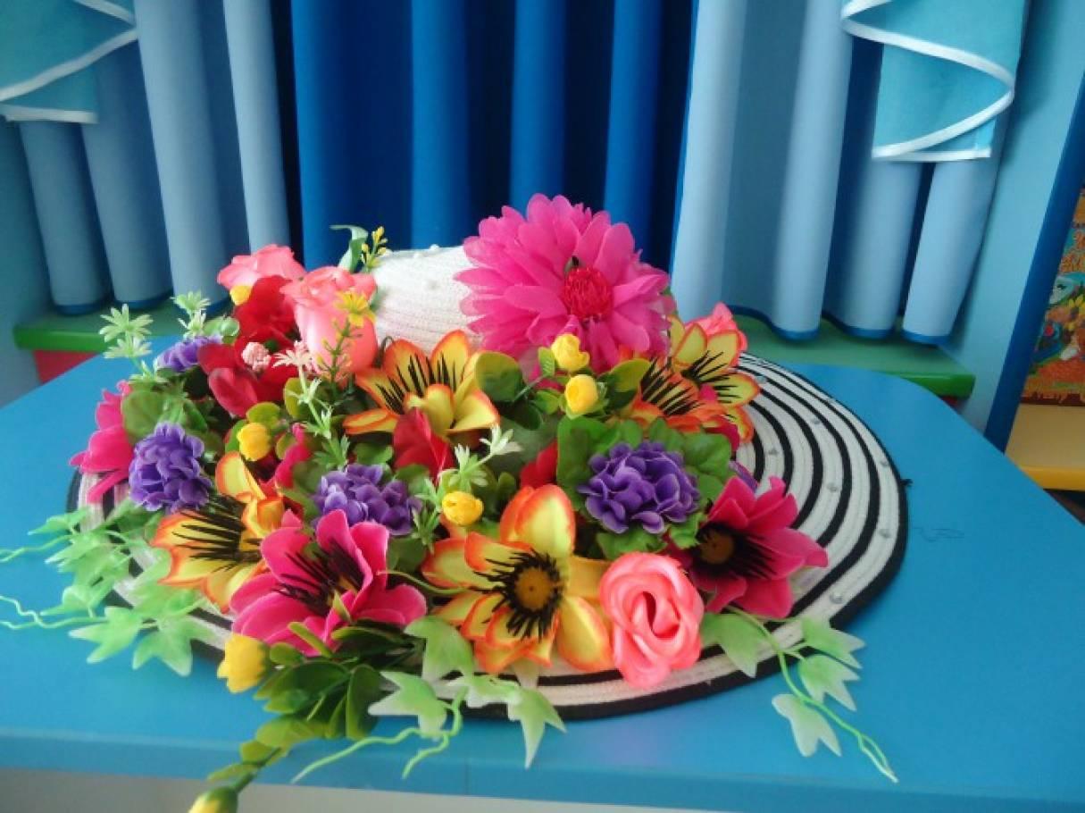 Фотоотчет «Шляпки для праздника 8 марта»