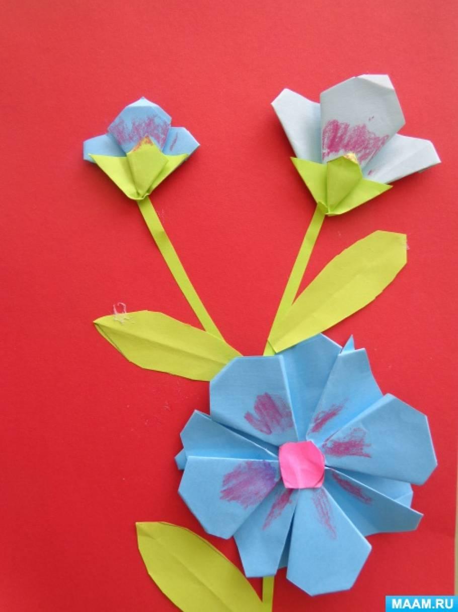 Цветочный конверт. « Поделки Malaya