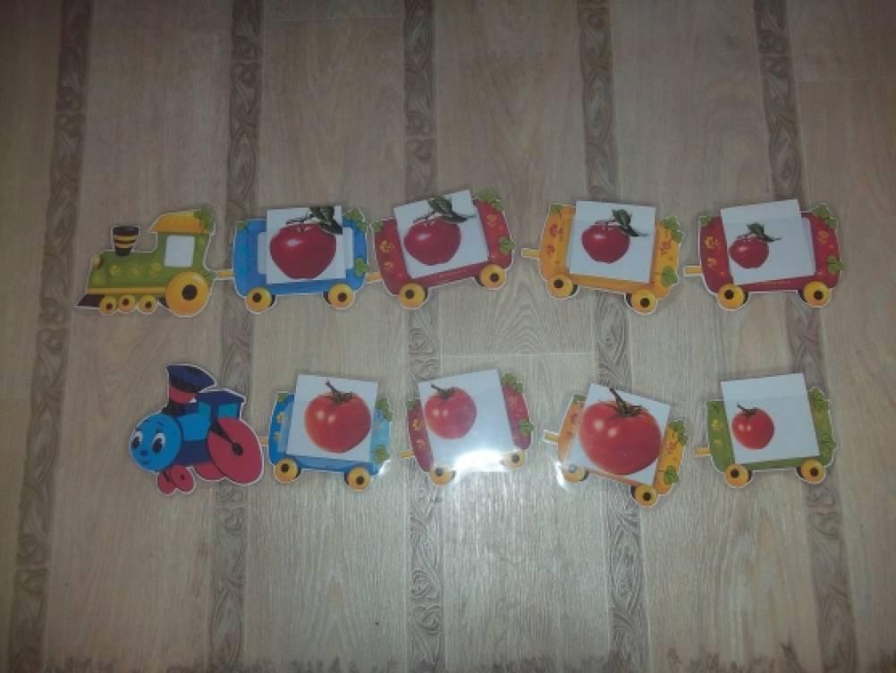 Дидактическая игра: «Паровоз привез…» для детей 3–5 лет