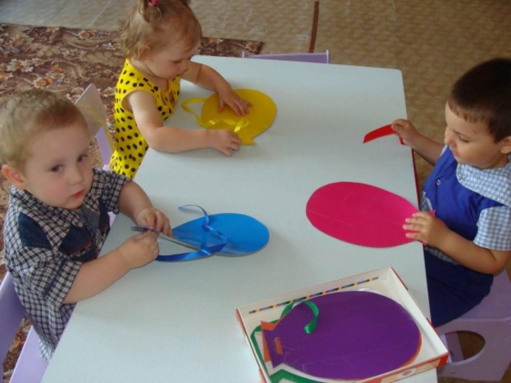 Занятия с дошкольниками своими руками
