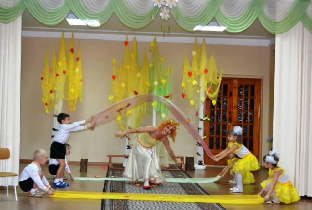 Сценарий театрализованного представления «Сказки от Осени. «Репка» (для детей дошкольного и младшего школьного возраста)