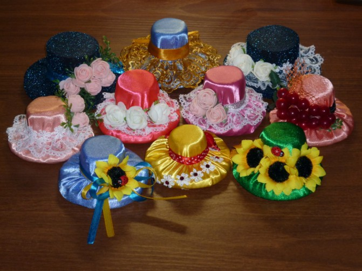 Шляпка для ребенка в детский сад мастер класс