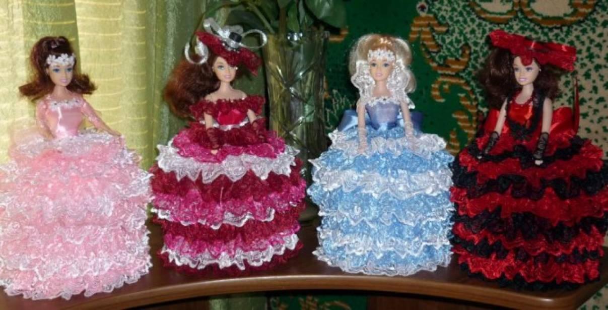 Мои поделки для кукол барби своими руками