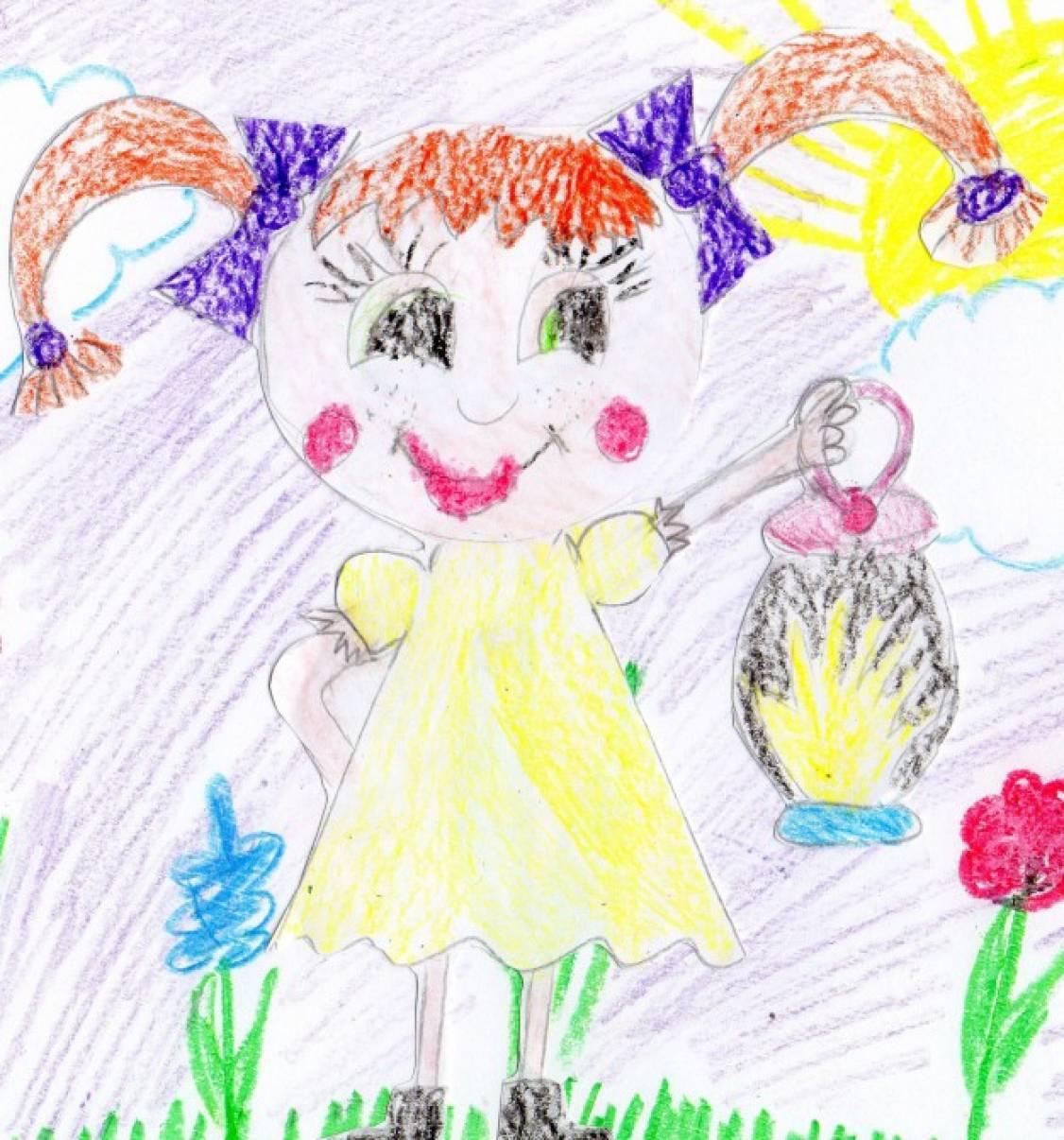 экономия детские энергии рисунки