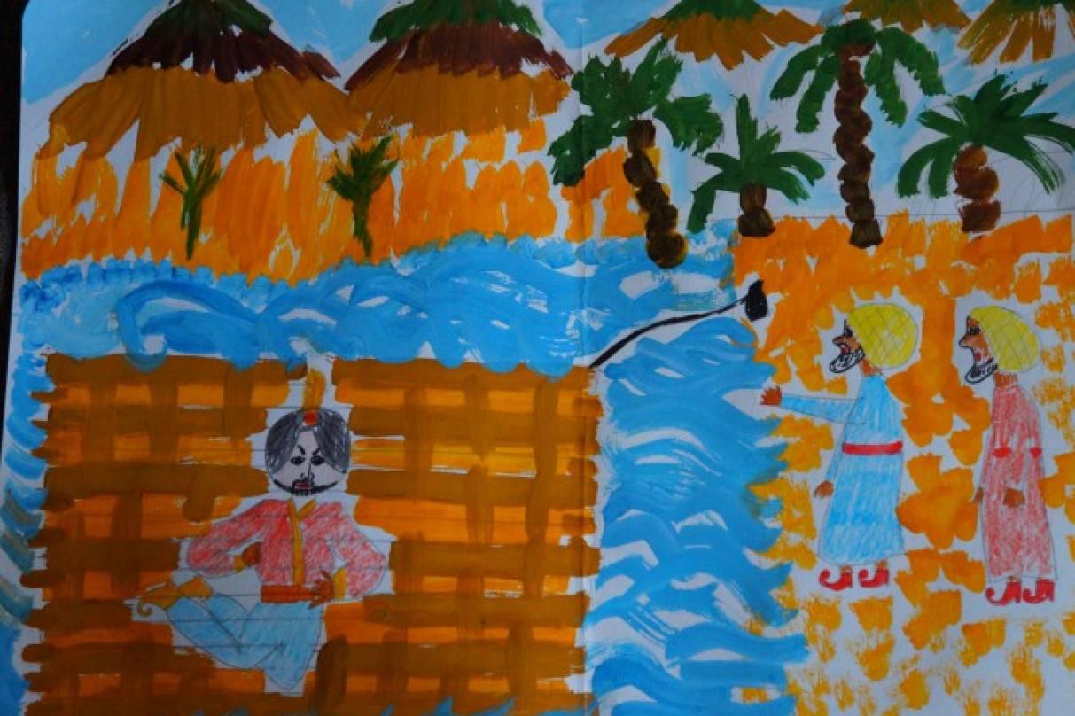 Викторина по арабской сказке «Синдбад-мореход, Шестое путешествие»