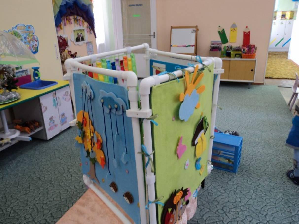 Ширма своими руками в детском саду из труб