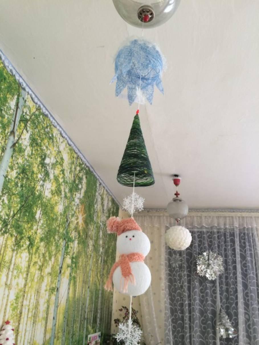 Фотоотчет выставки новогодние украшения своими руками