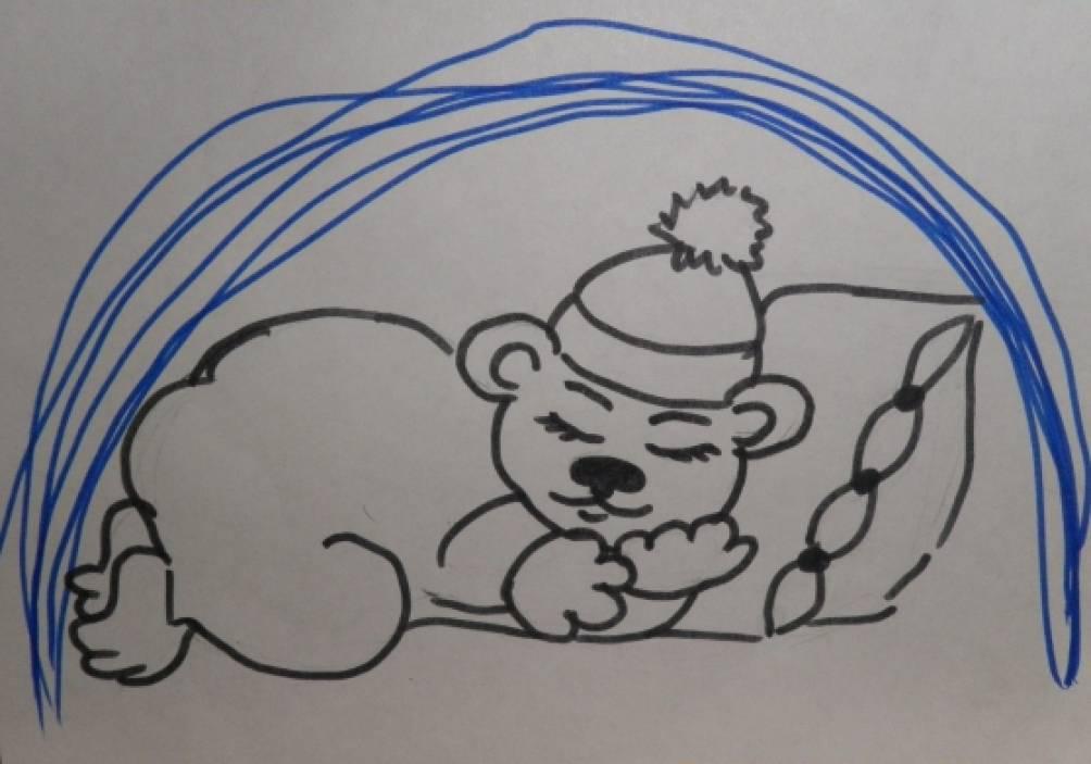 «Мишка-лежебока» Конспект непосредственно образовательной деятельности с детьми первой младшей группы