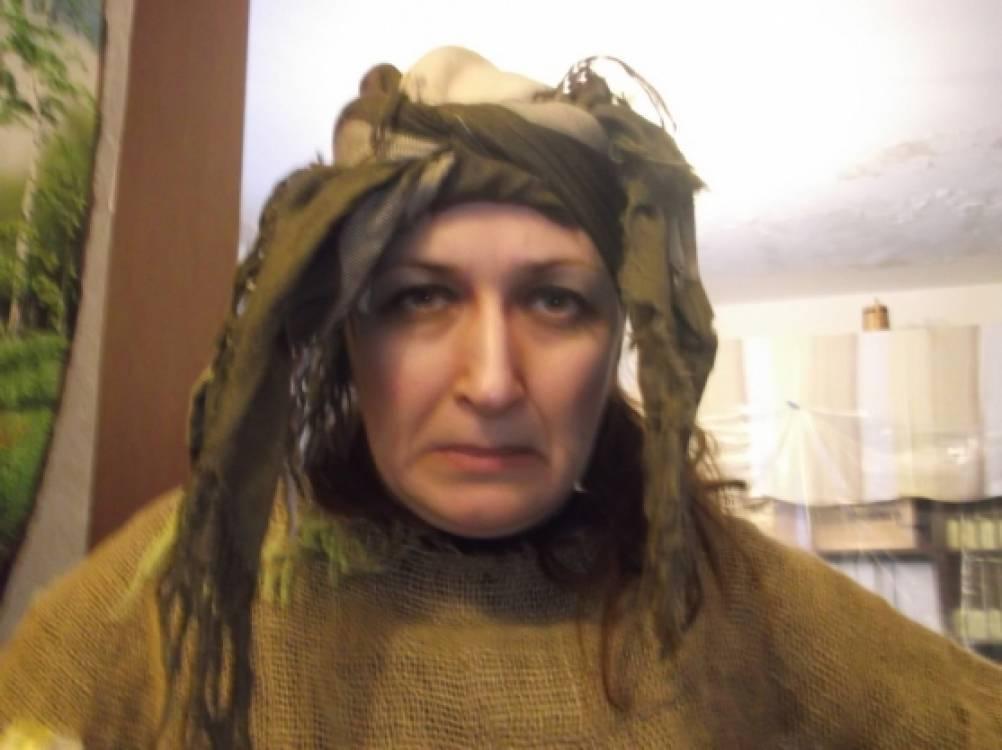 Грим бабы яги фото работа для модели боди арт