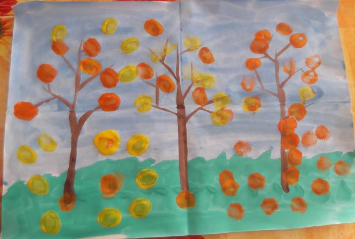 Осень картинки для второй младшей группы
