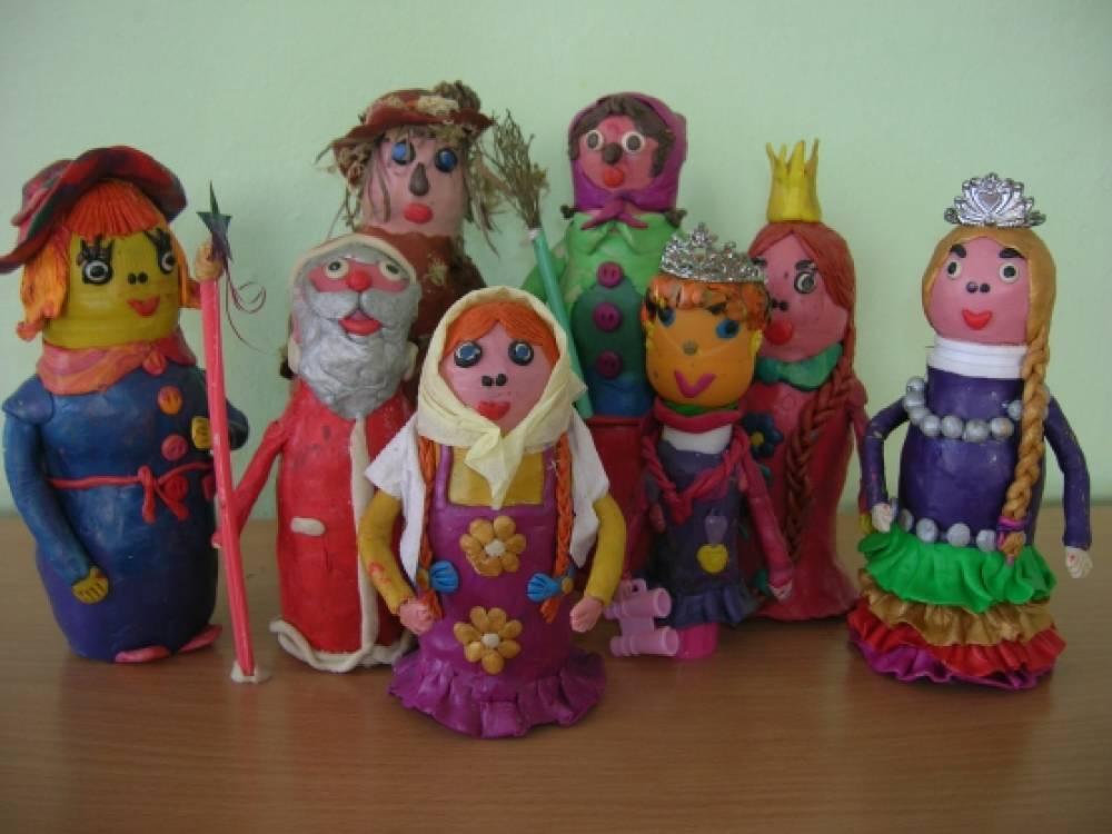 Кукла своими руками из пластилина