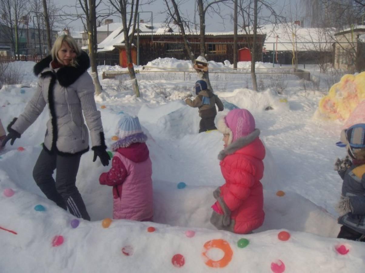 Оформление участка зимой своими руками фото 18