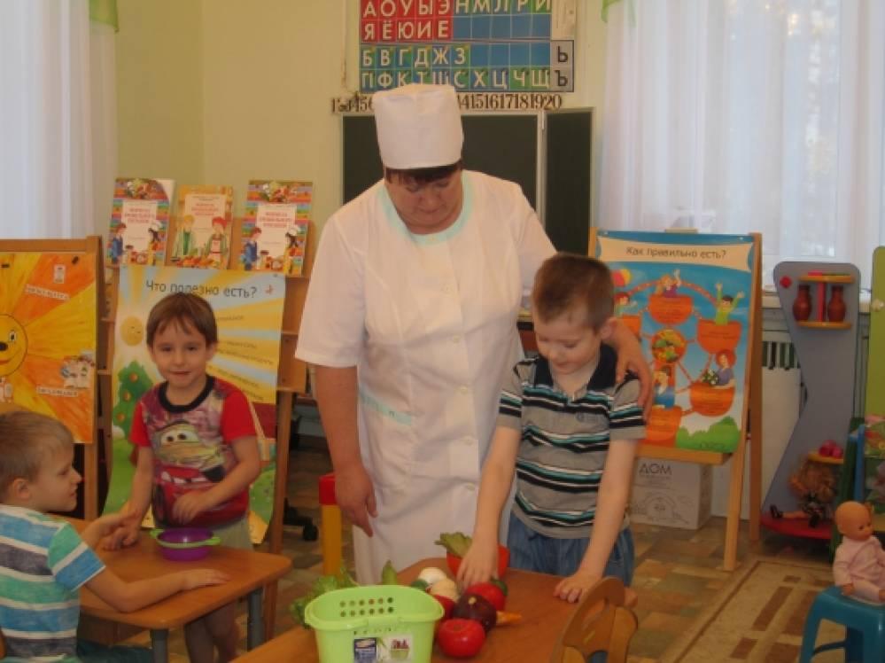 Досуг для детей подготовительной группы «Встреча с шеф-поваром детского сада»