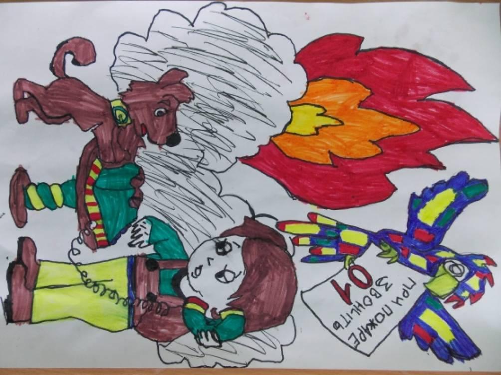 Месячник пожарной безопасности Воспитателям детских садов  Месячник пожарной безопасности