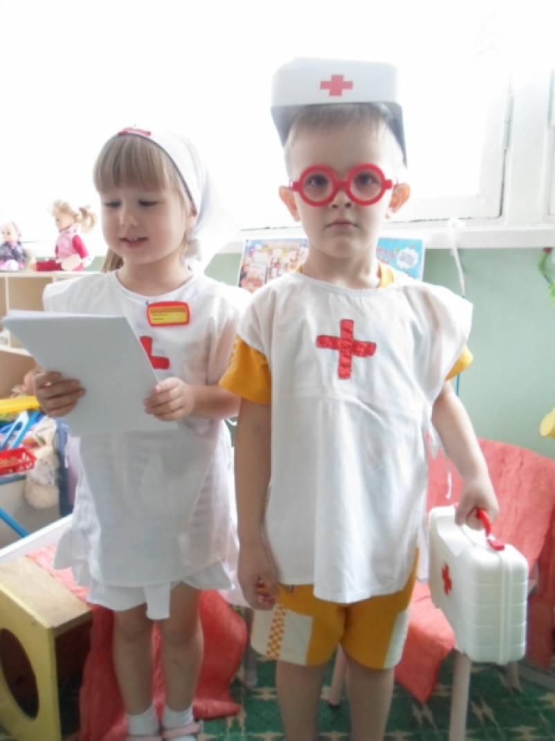 знакомство с миром профессий в детском саду