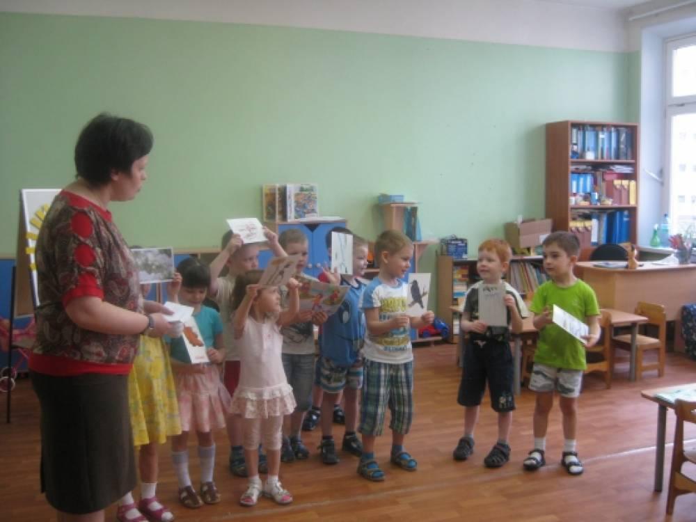 в детском саду знакомство со звуком i