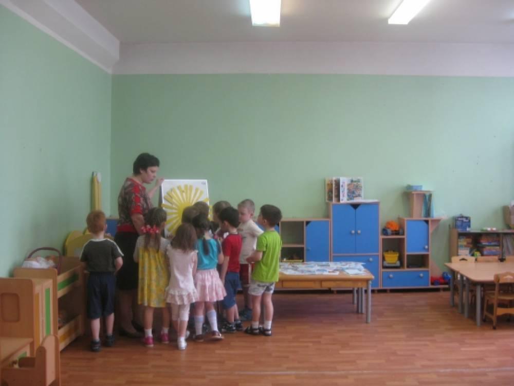 занятие в детском саду знакомство с буквой л
