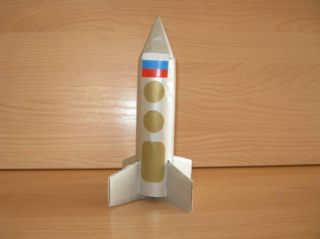 Поделка ко дню космонавтики ракета 186