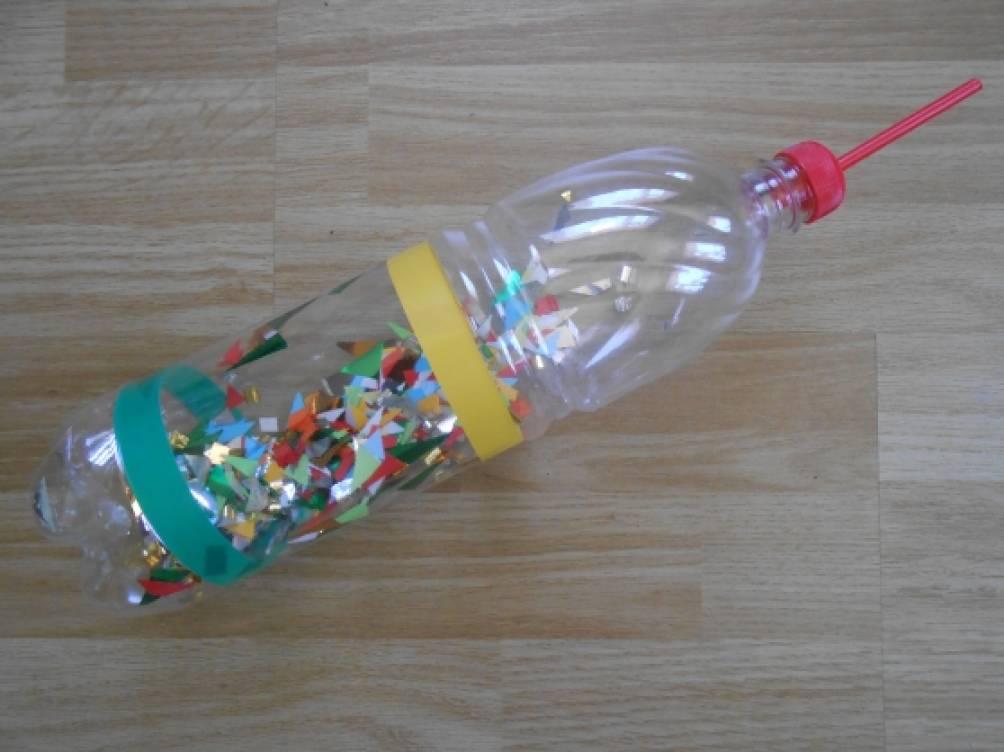 Кольцеброс своими руками из бутылки