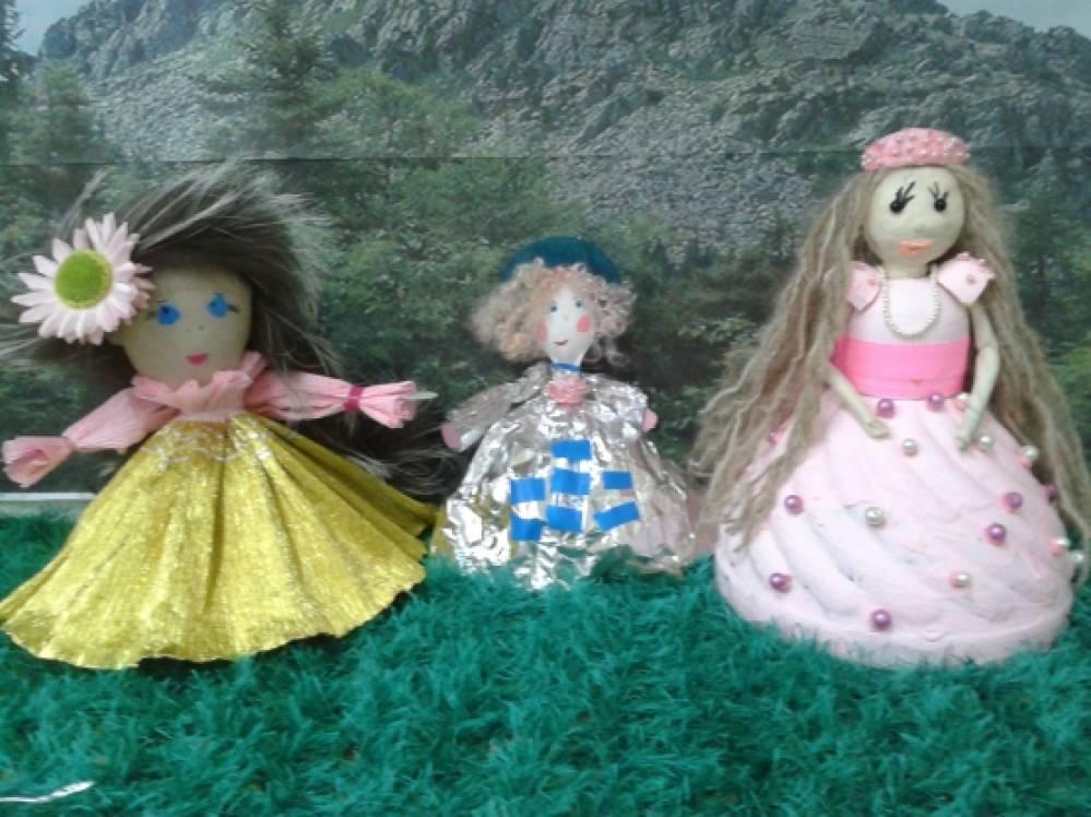 Мастер классы поделок кукол 801