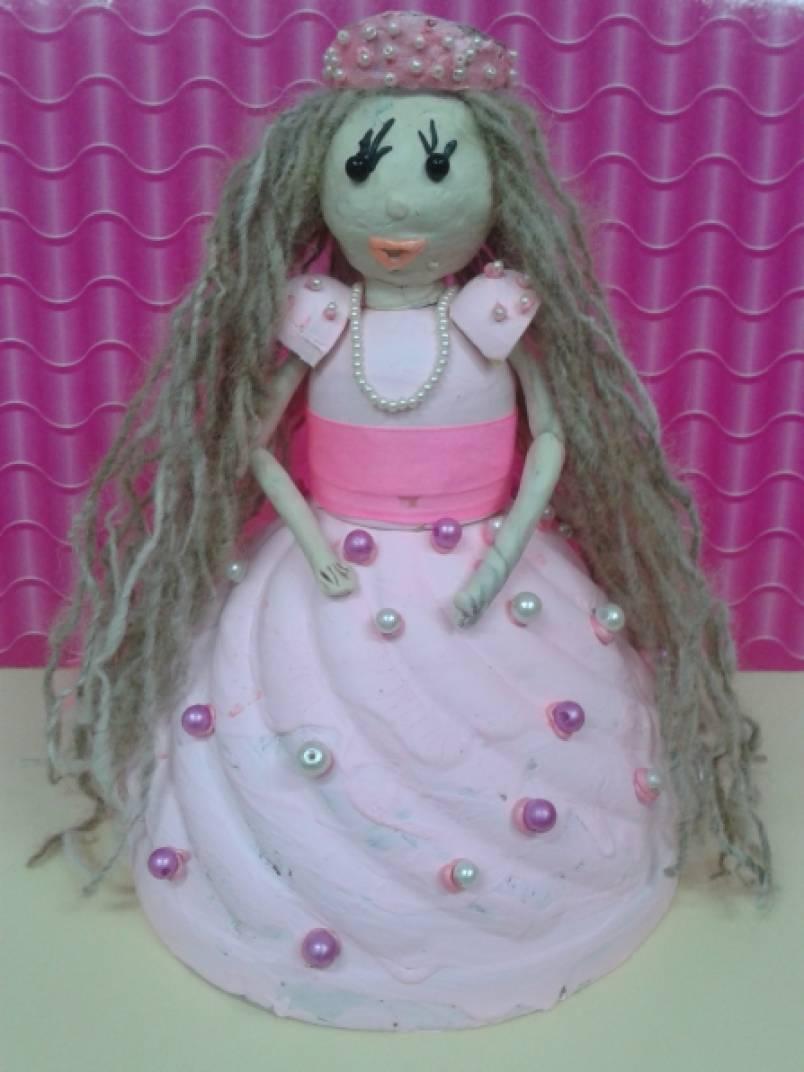 Кукла из бросового материала своими руками 27