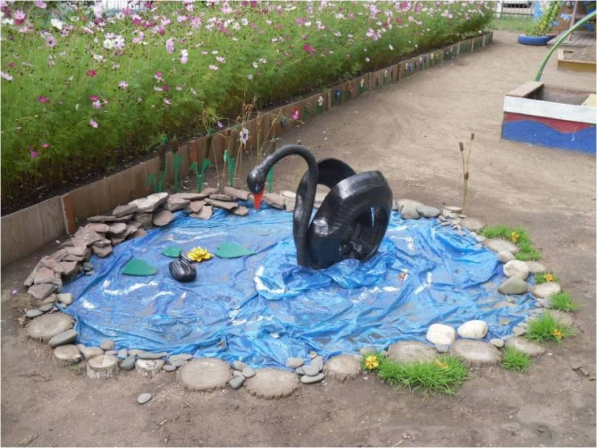 Оформление участка в саду своими руками летом фото 662