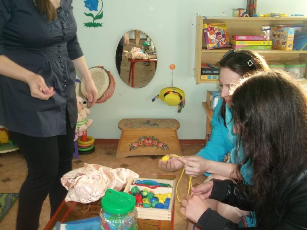 мастер-класс по сенсорному развитию детей взрослых