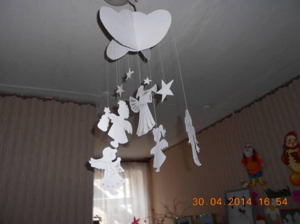 Ангелочки мобиль своими руками