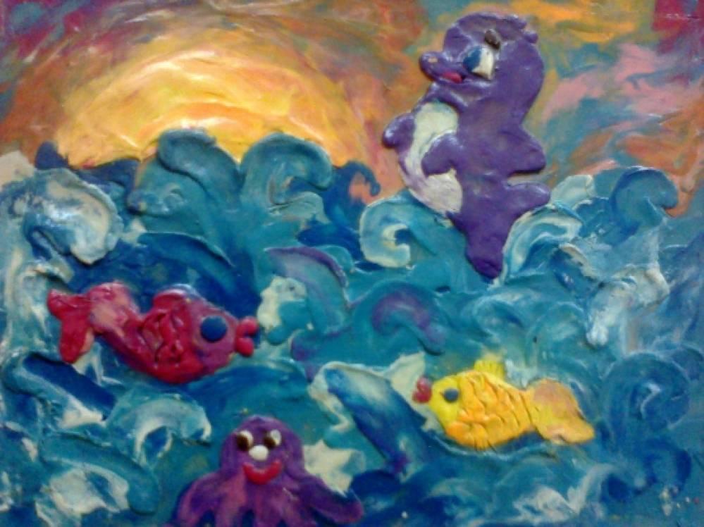 подводный мир картинки для детей рисунки
