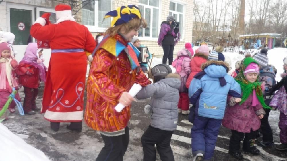 Сценарий развлечения на улице для всех детей ДОУ «Проводы Масленицы»
