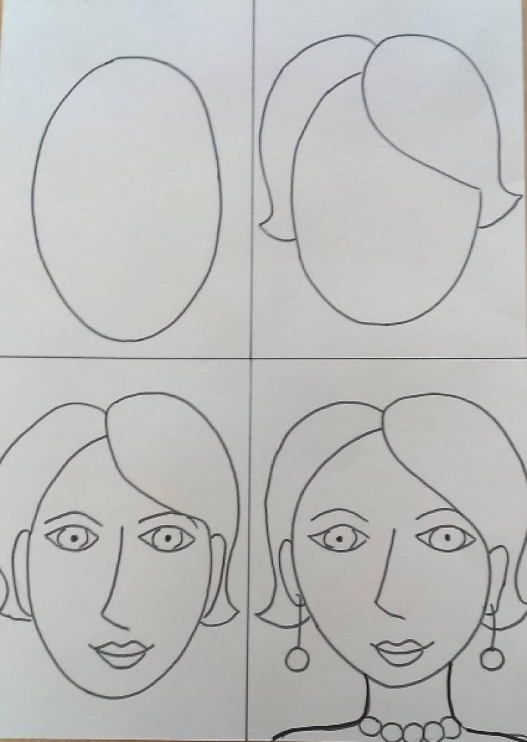 Портрет изо рисунок 121