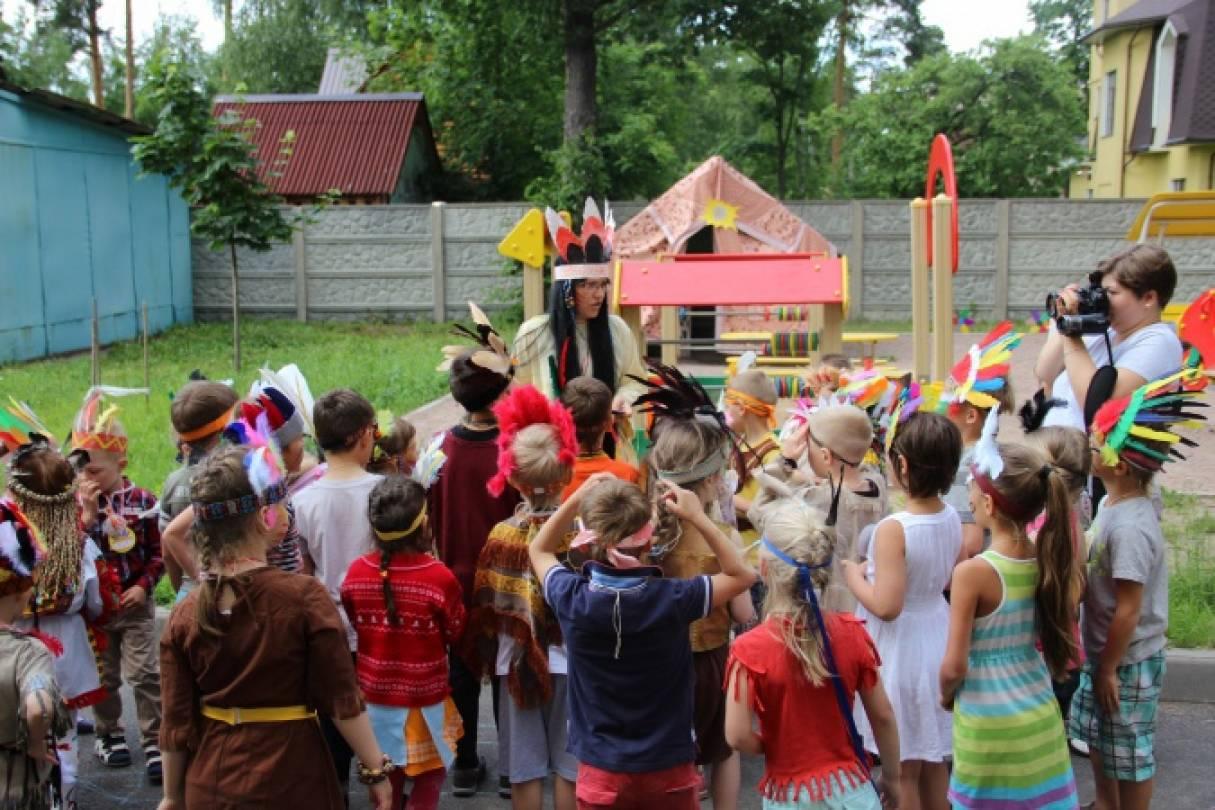 Сценарий летнего праздника «День индейцев»