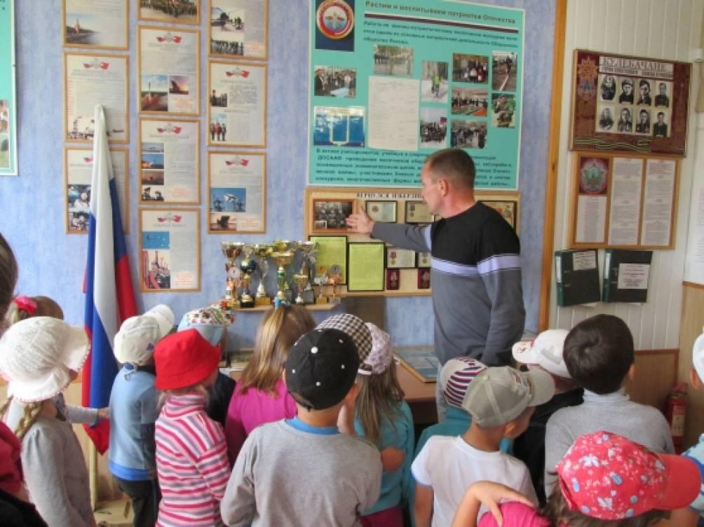Экскурсия в комнату музей воинской