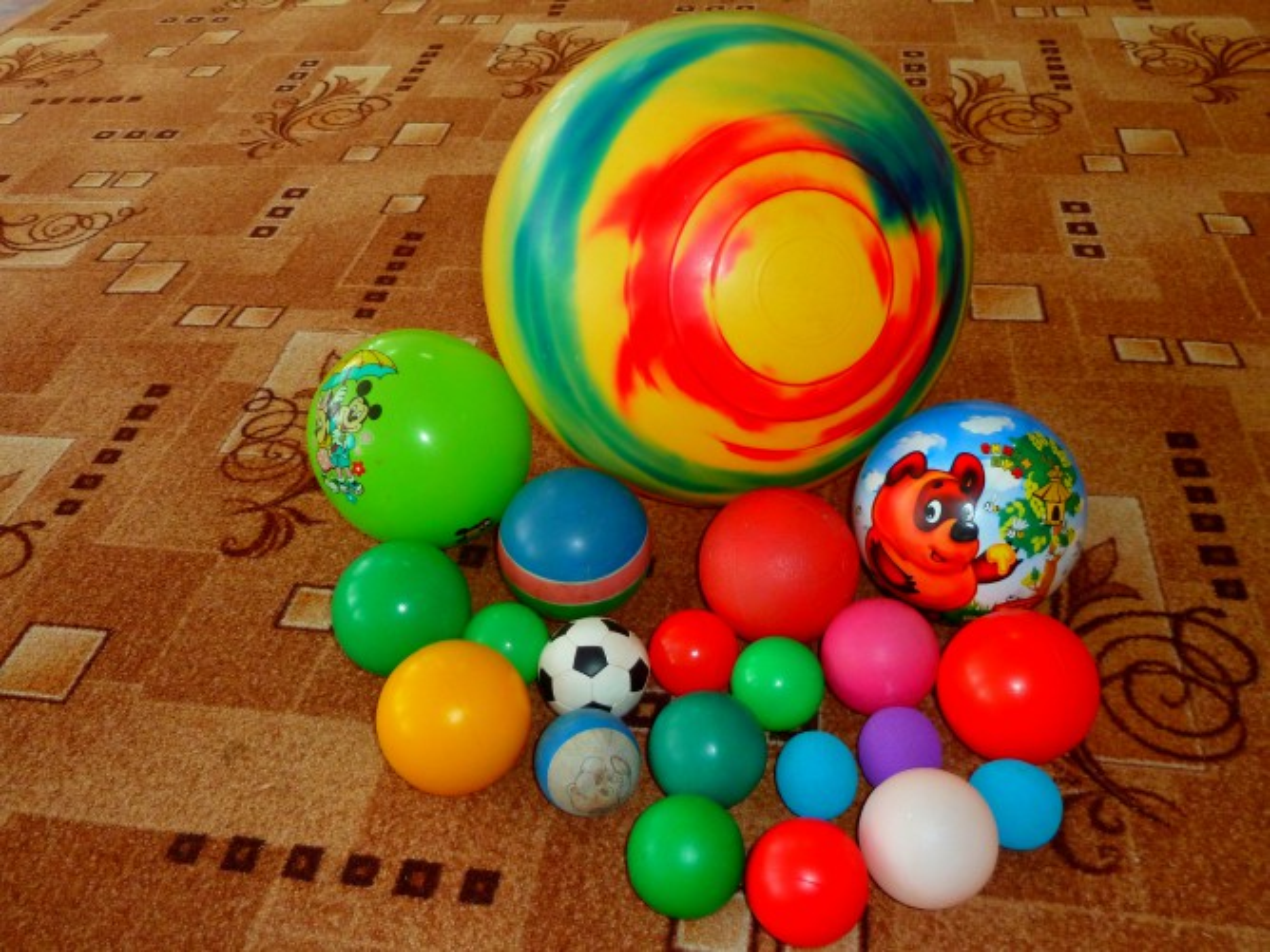 красивые мячи фото
