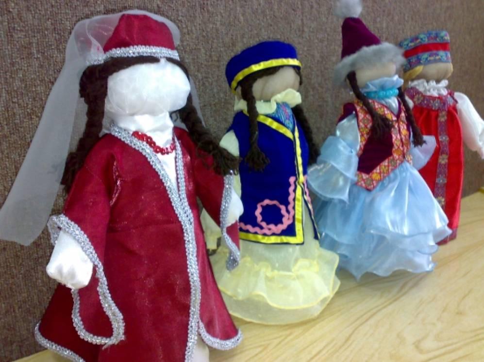 Куклы национальные своими руками