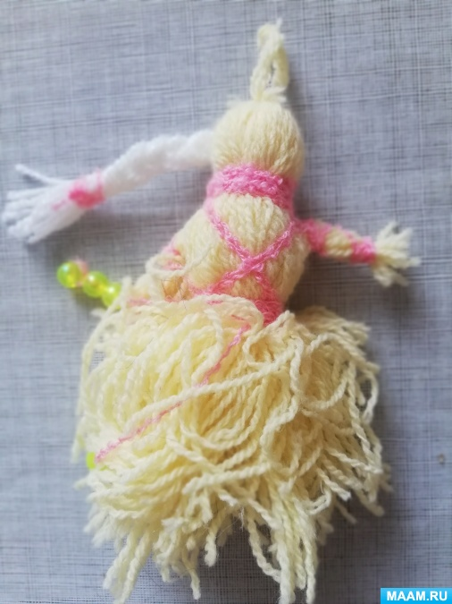 Мастер-класс по изготовлению куклы— оберега. Мотанка