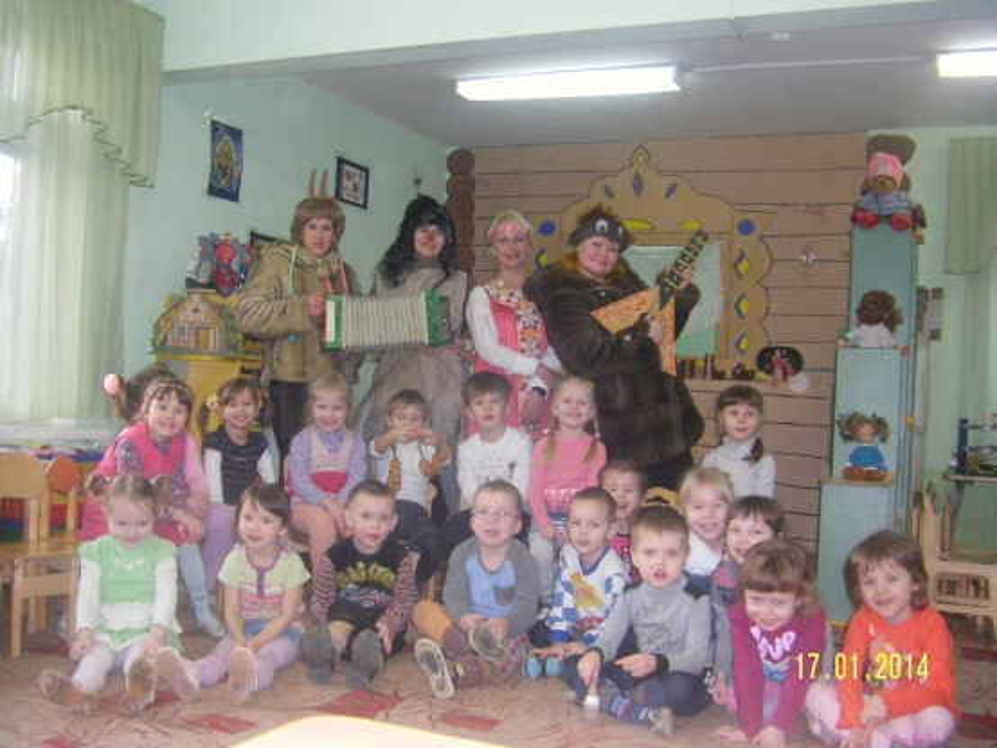 знакомство детей музее доу