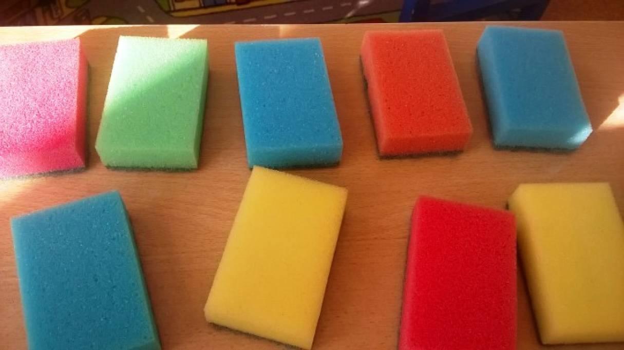 Поделки из губки для мытья 21