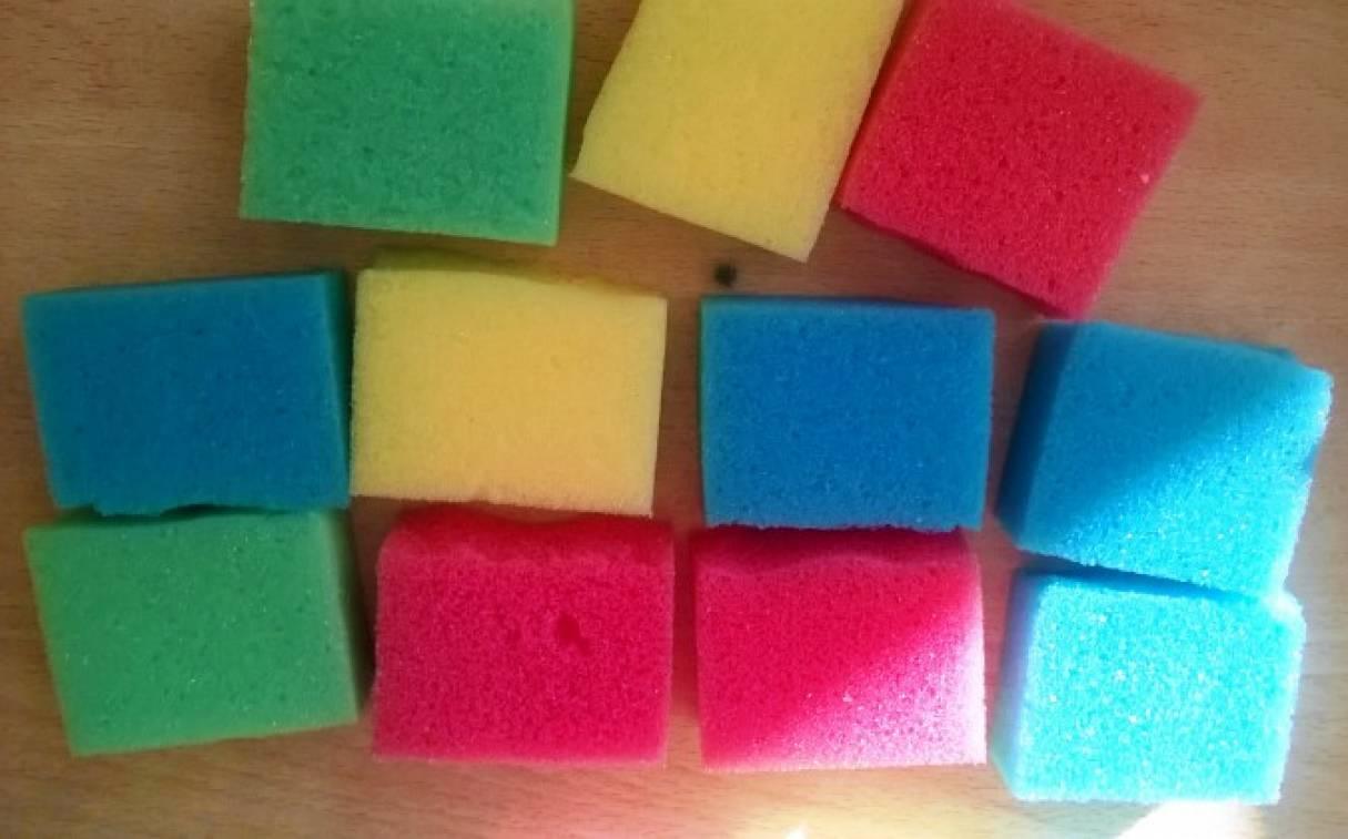 Поделки из губки для мытья посуды своими руками 865