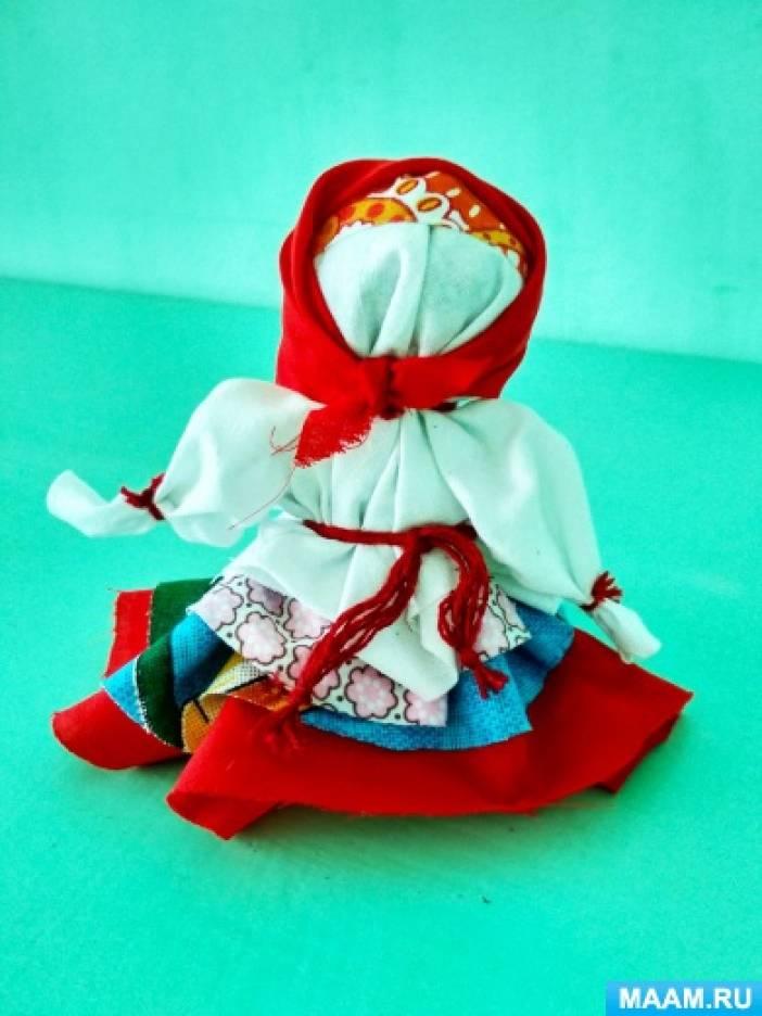 Мастер-класс куклы «Колокольчик»