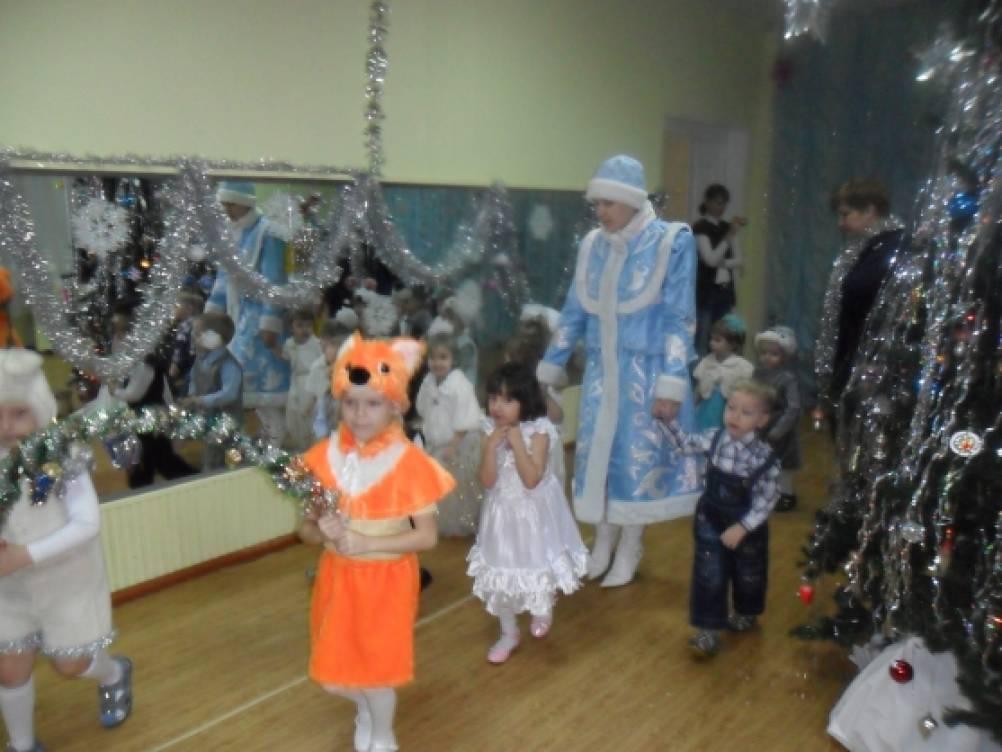 Сценарий новогоднего утренника для детей 2–3 лет
