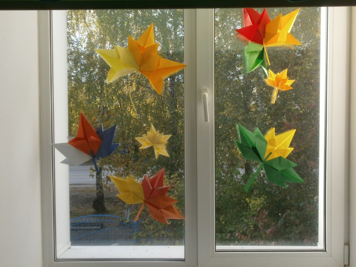 Оформление класса своими руками осень 9