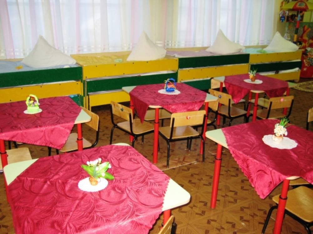 Скатерть в детский сад