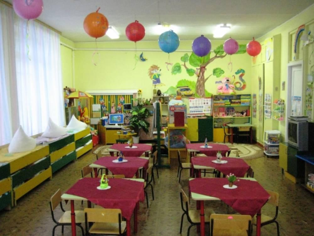 Дизайн столовой в детском саду
