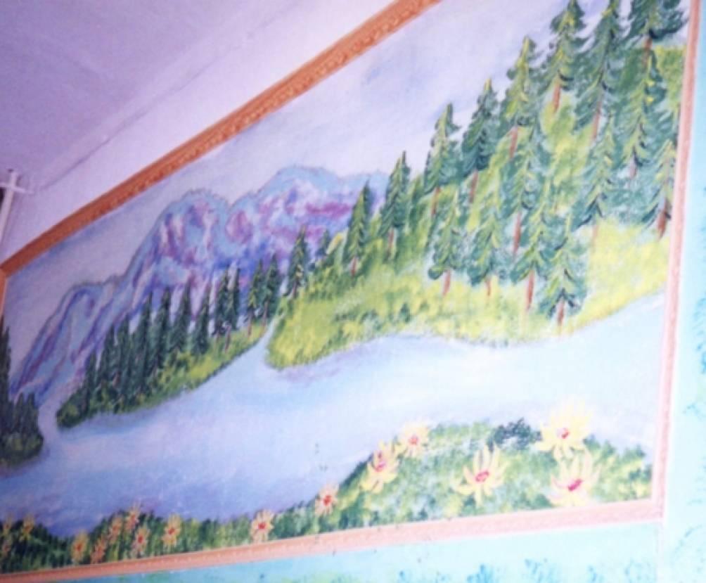 Картинная галерея — вариант оформления детского сада