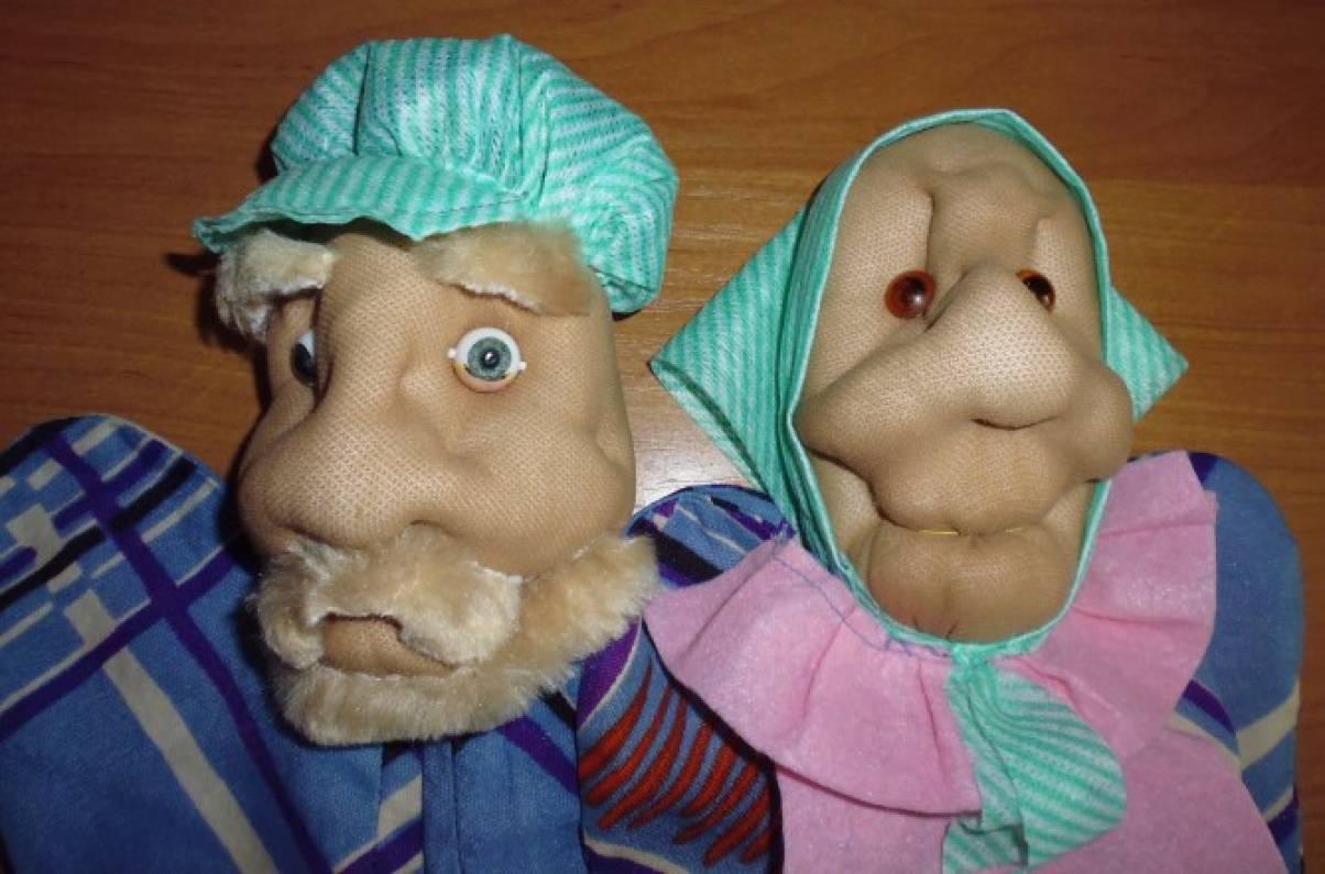 Мастер-класс по пошиву перчаточных кукол Модные платья 93