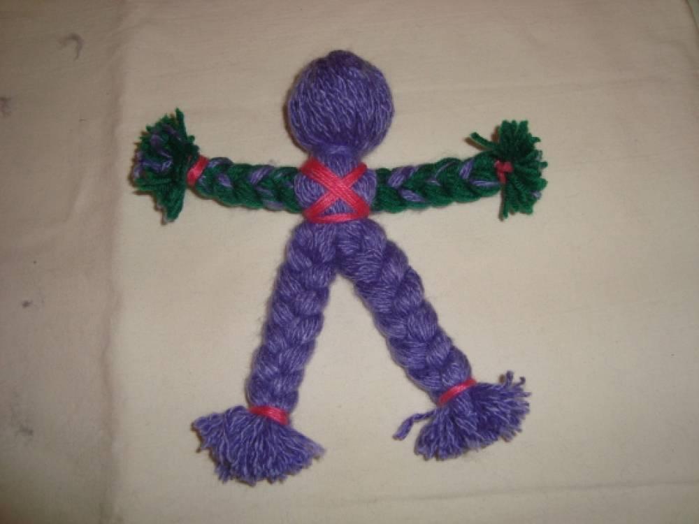 Куклы обереги из ниток для начинающих