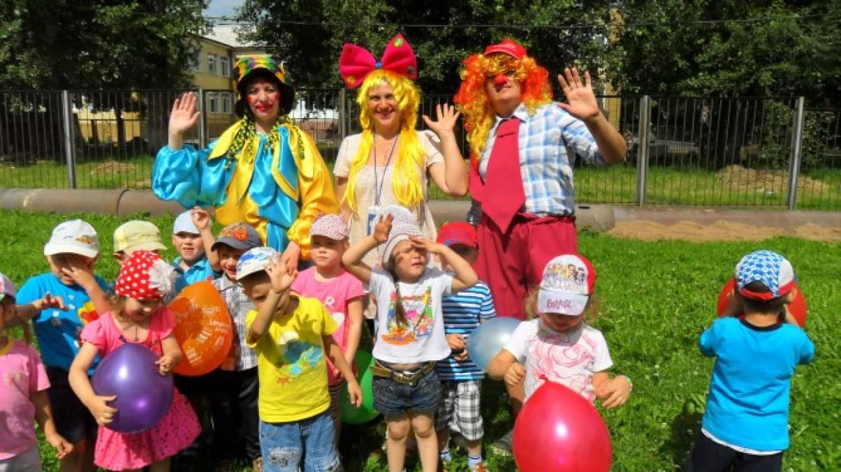 Сценарии с клоуном для младшей группы